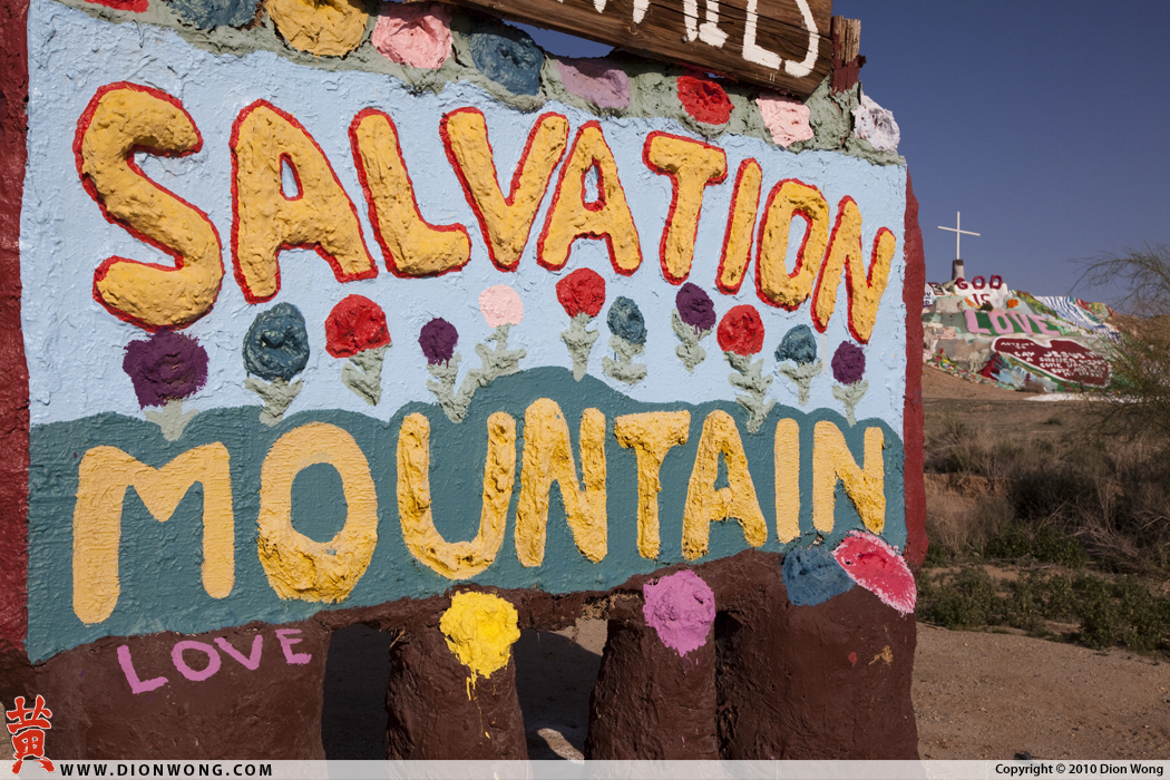 Salvation Mountian - Niland
